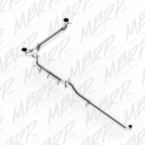 "Engine & Performance - Exhaust  Systems - MBRP Exhaust - MBRP Exhaust 5"" Down Pipe Back, Dual SMOKERS (incl. front pipe), AL S8008AL"