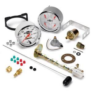 Interior Accessories - Gauges & Pods - AutoMeter - AutoMeter Gauge Kit; 2 pc.; Quad/Speedometer; 5in.; Chevrolet Heritage Bowtie 1303-00408