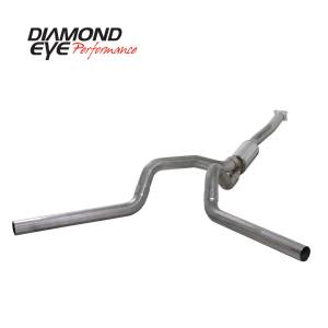 2004.5-2005 GM 6.6L LLY Duramax - Exhaust - Diamond Eye Performance - Diamond Eye Performance 2001-2005 CHEVY/GMC 6.6L DURAMAX 2500/3500 (ALL CAB AND BED LENGTHS)-4in. 409 ST K4112S