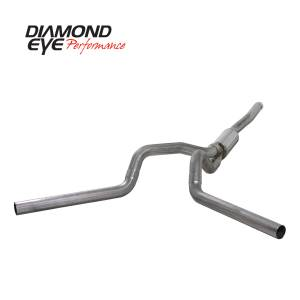 2006-2007 GM 6.6L LLY/LBZ Duramax - Exhaust - Diamond Eye Performance - Diamond Eye Performance 2006-2007.5 CHEVY/GMC 6.6L DURAMAX 2500/3500 (ALL CAB AND BED LENGTHS) 4in. 409 K4124S