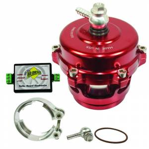 Accessories - Turbo Chargers & Components - BD Diesel - BD Diesel Turbo Guard Kit - Aluminum Adapter / Red Valve 1047250AR
