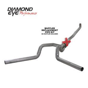 2006-2007 GM 6.6L LLY/LBZ Duramax - Exhaust - Diamond Eye Performance - Diamond Eye Performance 2001-2007.5 CHEVY/GMC 6.6L DURAMAX 2500/3500 (ALL CAB AND BED LENGTHS) 4in. 409 K4116S-RP
