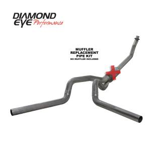 Engine & Performance - Exhaust  Systems - Diamond Eye Performance - Diamond Eye Performance 1994-2002 DODGE 5.9L CUMMINS 2500/3500 (ALL CAB AND BED LENGTHS)-4in. 409 STAINL K4214S-RP