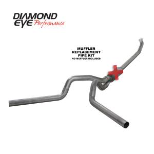 Engine & Performance - Exhaust  Systems - Diamond Eye Performance - Diamond Eye Performance 2004.5-2007.5 DODGE 5.9L CUMMINS 2500/3500 (ALL CAB AND BED LENGTHS)-4in. 409 ST K4237S-RP