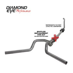 Engine & Performance - Exhaust  Systems - Diamond Eye Performance - Diamond Eye Performance 1994-1997.5 FORD 7.3L POWERSTROKE F250/F350 (ALL CAB AND BED LENGTHS) 4in. 409 S K4308S-RP
