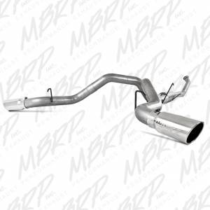 "MBRP Exhaust - MBRP Exhaust 4"" Turbo Back, Dual Side Exit, AL S6128AL"
