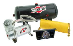 Drivetrain & Suspension - Air Bags & Components - Air Lift - Air Lift ON BOARD AIR COMPRESSOR KIT 25572