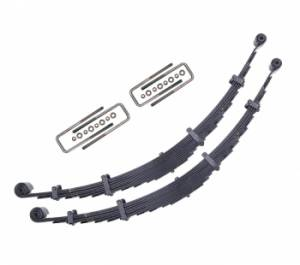 Drivetrain & Suspension - Steering And Suspension - ICON Vehicle Dynamics - ICON Vehicle Dynamics 4 Inch Lift Front Leaf Spring Kit 34500