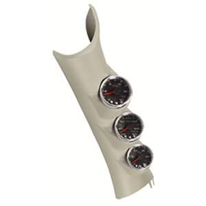 Interior Accessories - Gauges & Pods - AutoMeter - AutoMeter Diesel Gauge Kit; A-Pillr; RAM 10-14; Boost/EGT/Trans; 60psi/2kdeg. F/250deg. F; P73003