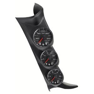 AutoMeter - AutoMeter Diesel Gauge Kit; A-Pillr; GM 00-07; Boost/EGT/Trans; 60psi/2kdeg. F/250deg. F; P73020
