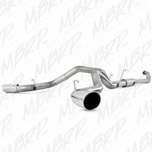 "MBRP Exhaust - MBRP Exhaust 4"" Turbo Back, Dual Side Exit, T409 S6128409"