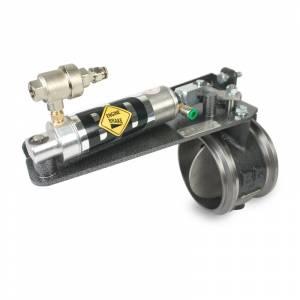 BD Diesel EXHAUST BRAKE Remote Air 4.0in - Dodge 6.7L 2007.5-2012 w/Non-VGT Turbo 1027342