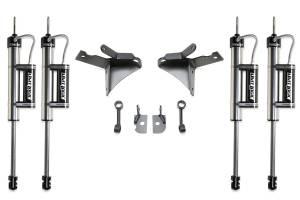 Fabtech - Fabtech 5in DUAL SHOCK KIT W/DIRT LOGIC RESI SS SHOCKS - 2014-15 RAM 2500 4WD & 2013-14 FTS23125