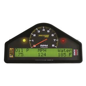 Interior Accessories - Gauges & Pods - AutoMeter - AutoMeter Street Dash Display; 8k RPM/MPH/OILP/OILT/WTMP/VOLT; Pro-Comp 6002
