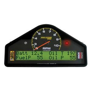 Interior Accessories - Gauges & Pods - AutoMeter - AutoMeter Race Dash Display; 10.5k RPM/MPH/FUELP/OILP/OILT/WTMP/VOLT; Pro-Comp 6013