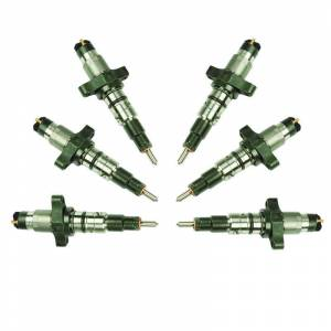 Engine & Performance - Fuel System - BD Diesel - BD Diesel Stock Performance Plus CR Injector Set - Dodge 5.9L Cummins 2004.5-2007 1074505
