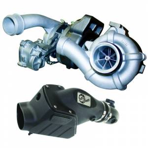 Engine & Performance - Turbo Chargers & Components - BD Diesel - BD Diesel Twin Turbo System, Performance - Ford 6.4L 2008-2010 c/w Air Intake Kit 1047080