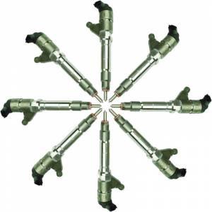 BD Diesel - BD Diesel Injector Set - Chevy Duramax LMM 2007.5-2010 - Stage 4 180 HP / 73% 1076618
