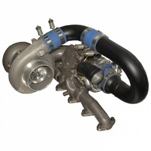 1994-1998 Dodge 5.9L 12V Cummins - Turbo Chargers & Components - BD Diesel - BD Diesel R700 Tow & Track Turbo Kit w/FMW Billet Wheel on Sec - Dodge 1994-1998 12vlv man 1045410
