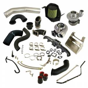 2007.5-2017 Dodge 6.7L 24V Cummins - Turbo Chargers & Components - BD Diesel - BD Diesel Cobra Twin Turbo Kit S366SX-E / S486 BD - Dodge 2007.5-2009 6.7L 1045786