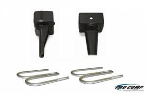 Drivetrain & Suspension - Steering And Suspension - Pro Comp - Pro Comp Block With U-Bolt Kit 58256